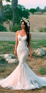 mermaid wedding 25 mermaid wedding dresses weddingomania