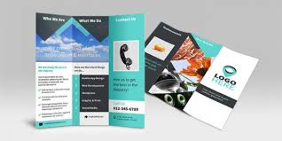 tri fold brochures creative corporate tri fold brochure vol 16