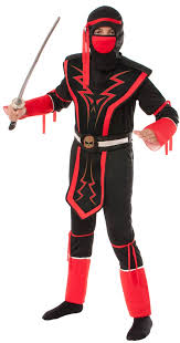 Ninja Costumes Halloween Kids Red Black Skull Ninja Costume Halloween 2015
