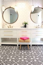 100 Black And White Tile Bathroom Ideas Best 25 Farmhouse Best 25 White Vanity Bathroom Ideas On Pinterest White Bathroom