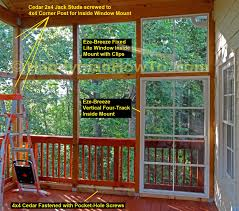 how to install eze breeze inside mount windows