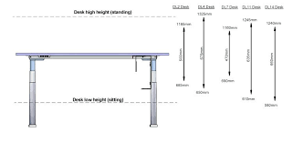 Height Of Office Desk Office Desk Height Dimensions Standard The Image For Cm