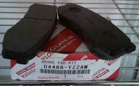 lexus rx300 brake pads and rotors toy lex stores nig ltd 04466 yzzam rear brake pad kit for toyota