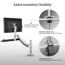 Sit Stand Desk Mount by Sit Stand Monitor Mounts Flexispot