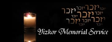 yizkor prayer in yizkor memorial service chabad of orange county