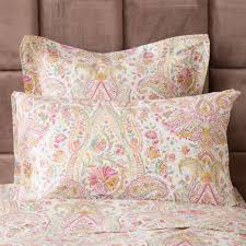paisley print pillow case boho pinterest paisley print