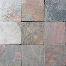 Tumbled Slate Backsplash by Ms International Multi Color 4 In X 4 In Tumbled Slate Floor And