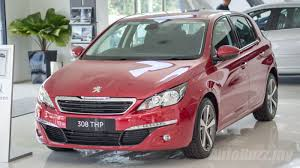peugeot malaysia peugeot 308 thp active launched in malaysia priced at rm119k