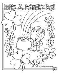 rainbow pot of gold coloring pages top 25 free printable st patrick u0027s day coloring pages online