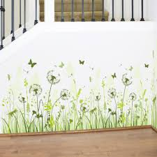 online get cheap wall classroom aliexpress com alibaba group dandelion baseboard sticker waterproof children classrooms removable mural wall stickers home decoration pvc kid decoration