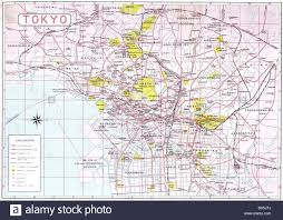 Asia Geography Map by Geography Travel Japan Tokyo City Map Circa 1936 Maps 20th