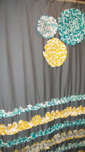 Gray And Yellow Chevron Shower Curtain by 121 Best Bathroom Curtains Images On Pinterest Bathroom Curtains