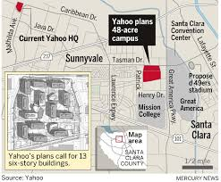 yahoo santa clara campus could house 12 000 workers the mercury news