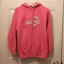 pacific u0026 co reduced outer banks pink hooded sweatshirt from