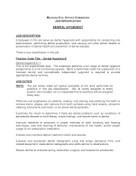objective for dentist resume resume dental hygienist resume example picture of printable dental hygienist resume example large size