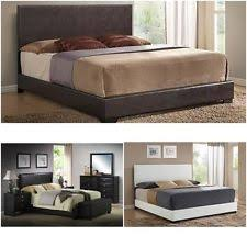 Platform Bed Ebay - upholstered king bed ebay