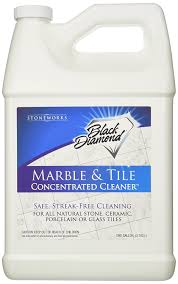 amazon com black marble tile floor cleaner great for