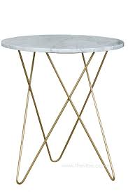 marble and brass coffee table white marble brass leg side table vibe giftware decor