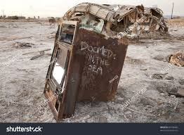 old oven rots salton sea ca stock photo 63100468 shutterstock
