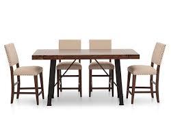 Urban Dining Room Table - urban lodge 5 pc slat back dining room set furniture row
