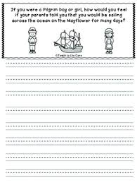 thanksgiving journal prompts grades k 6 by teach to the tpt