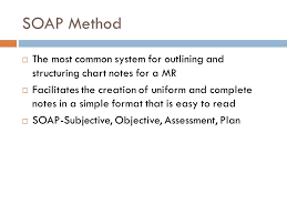 subjective objective assessment planning note best 25 soap note
