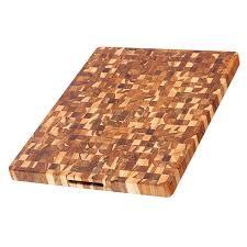 amazon com teak cutting board rectangle end grain butcher block