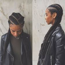 cornrow hairstyles for black women with part in the middle 25 beautiful black women rocking this season s most popular