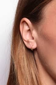 earing model pollen twist earring jukserei