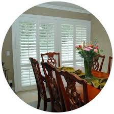 custom shutters in dining rooms