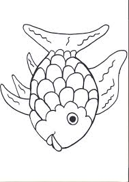 fish template coloring free download