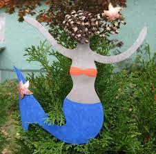 buy a handmade metal art mermaid christmas tree topper recycled