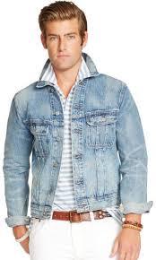 light distressed denim jacket polo ralph lauren distressed denim jacket where to buy how to wear