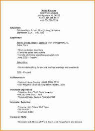 Babysitting On Resume Example by High Resume Templates Resume Format Download Pdf