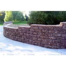 Garden Wall Retaining Blocks by Pallet Retaining Wall Block Wall Blocks Hardscapes The