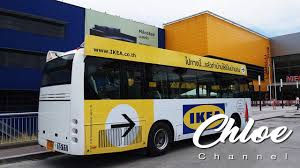 how to go to ikea at mega bangna by shuttle bus at bts udomsuk