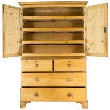 armoire linen cupboard antique scottish victorian pine linen press armoire cabinet