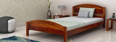 Cheapest Single Bed Frame Buy Single Beds For Bedroom With Designs In India