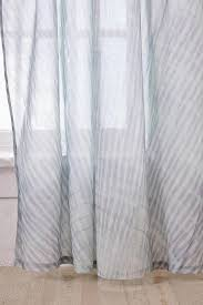 White Window Curtains Dip Dye Gray Ombre Window Curtain