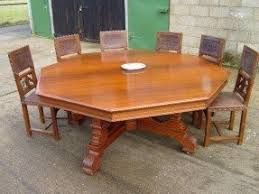 Round Dining Room Table For 8 Large Round Dining Table Seats 10 Foter