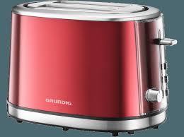 Grundig Toaster Bedienungsanleitung Grundig Ta 6330 Toaster Metallic Rot Edelstahl
