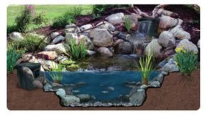 Pictures Of Backyard Waterfalls by Backyard Waterfalls Kits Awesome Decorations House Design And