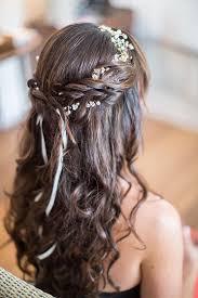 coiffure mariage cheveux cheveux lâchés mariée dans le vent mariage