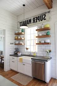 new york kitchen floating shelves contemporary with island