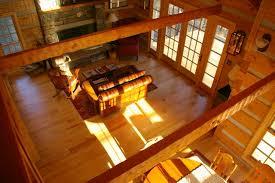 log floor ash and pine floors in a log cabin ozark hardwood flooring