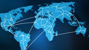 world map stock image world map network hd stock footage 580900