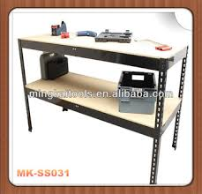 2 shelf steel work bench for garage metal rack buy metal rack