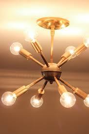 Light Fixtures Chandeliers New Sputnik Chandelier U0026 Mid Century Style Lighting Source Erin