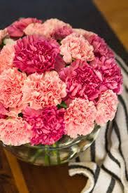 carnation flowers simple carnation flower arrangement but stunning unsophisticook