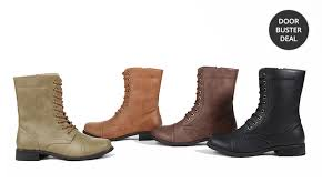 carrini s combat boots groupon